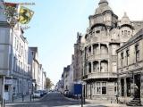 Heute Viktor-Reuter-Straße  Viktor Reuter war Stadtverordneter für die KPD in Herne. Er wurde, wahrscheinlich im März 1945, im Konzentrationslager Bergen-Belsen ermordet. Die Straße wurde im Rahmen des Stadtumbauprojekts 2016 erneuert.  Projektführung, Foto & Grafik: Marcus Schubert und Gerd Biedermann, in Kooperation mit dem Stadtarchiv Herne (Oktober 2016)